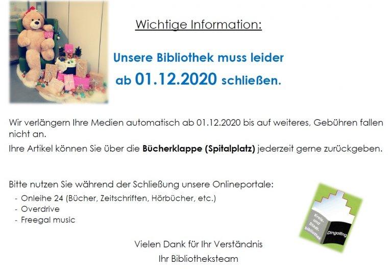 Schliessung BIB